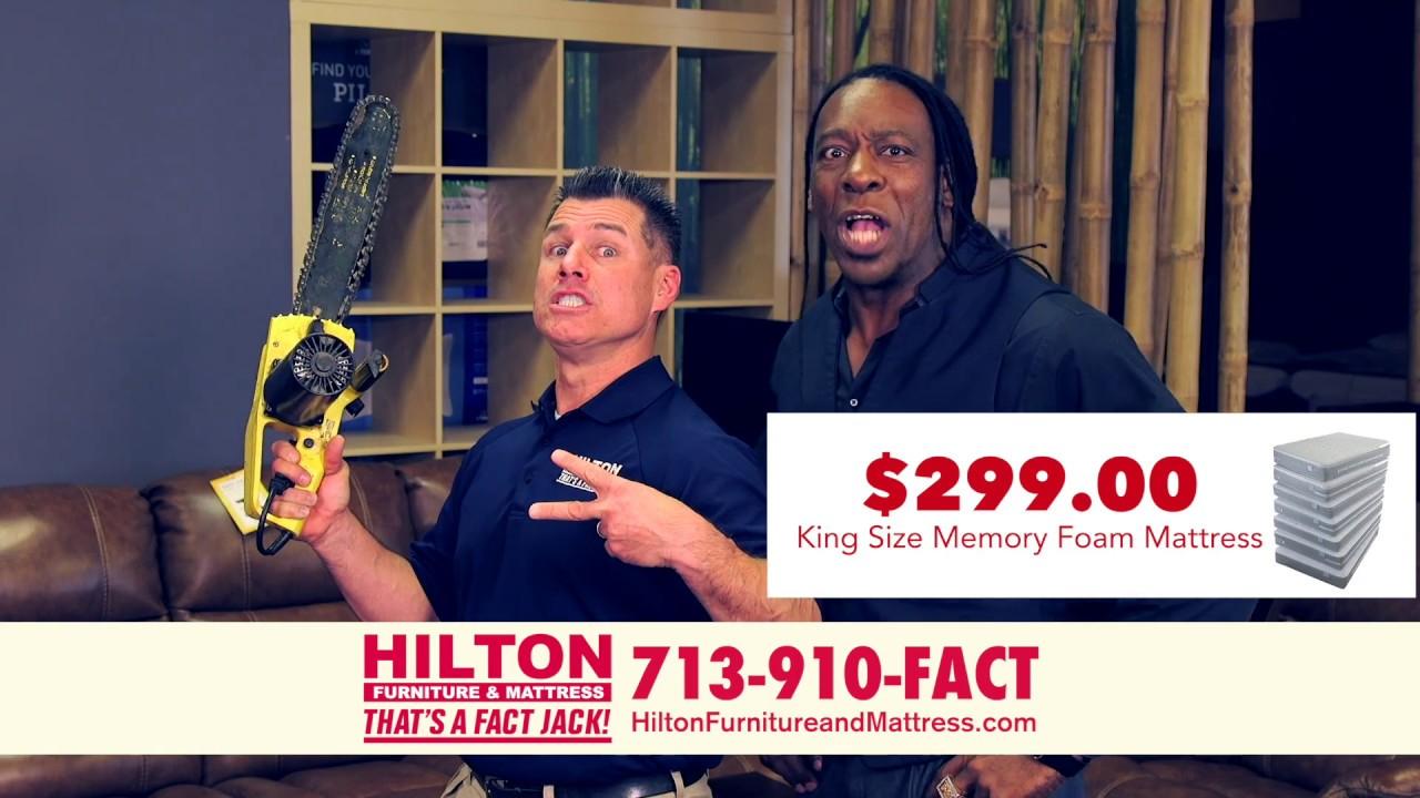 Hilton Furniture Mattress 299 King Size Memory Foam Mattress