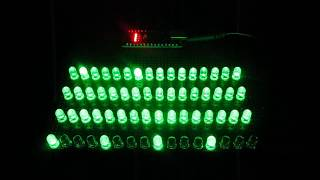 ARDUINO 4×4×4 LED MATRIX SEQUENCER