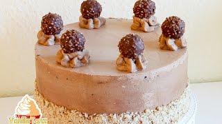 Ferrero Rocher Cake, Ferrero Rocher Torte, Ферреро торт
