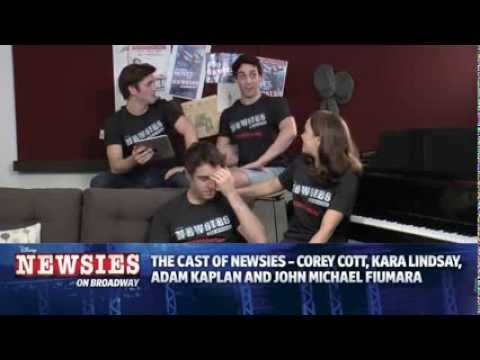 Disney's NEWSIES Live Chat - Sept. 21, 2013