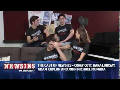 Disney's NEWSIES Live Chat - Sept. 21, 2013