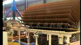 Automatic Straw Board Production Line (plc Controlled ) With Annual Output 50000cubic Meters