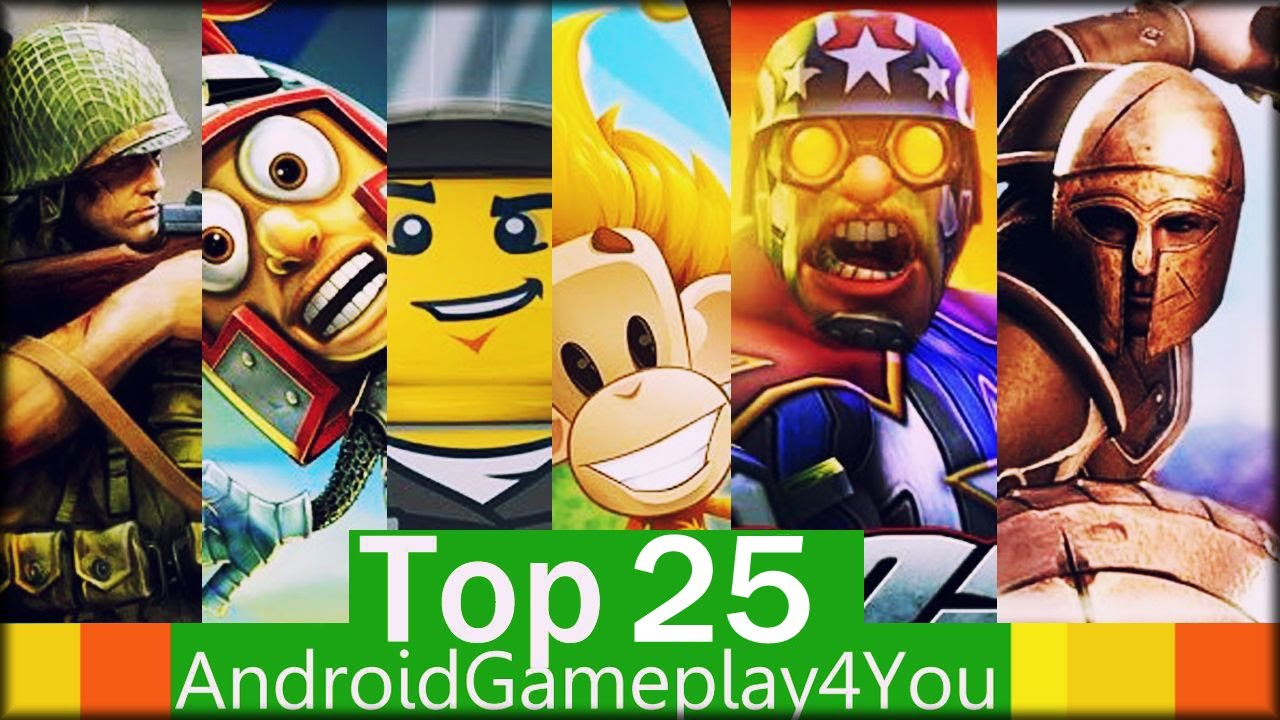 Top 25 Best Free Android Games 2013 Game For Kids Youtube