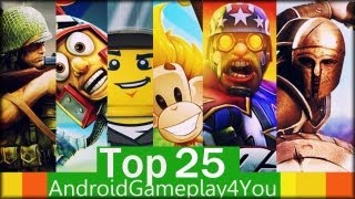 Top 25 Best Free Android Games 2013!