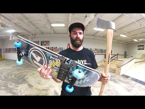 CAN WE BREAK THIS!? / Walmart Skateboard