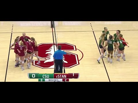 Stanford v Colorado State, 12/02/17, Second Round Match