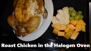 Cooking in a Halogen Oven #8 - Roasted Chicken