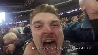 TOTTENHAM VS WEST HAM (2-3) | AWAY DAY | WHAT A COMEBACK | FANS REACTION!!!