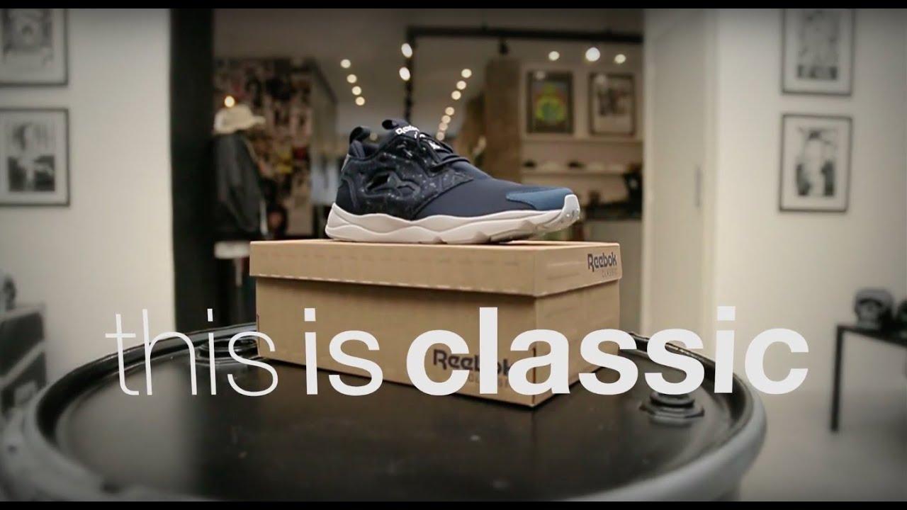 a2d791dab9b1 Reebok Classic X SneakersBR  thisisclassic - Episódio 3  Unboxing FuryLite