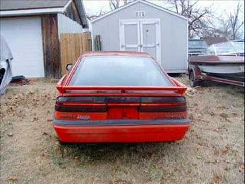 1988 Dodge Daytona Shelby Z - YouTube