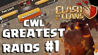NEW CLASH OF CLANS - THE LOST VS PREDOMINANCE (CWL) BEST MOMENTS