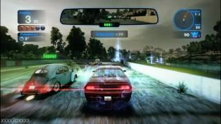 BLUR - PROVING GROUNDS - CARRERA 1 - BARCELONA OVAL - XBOX 360