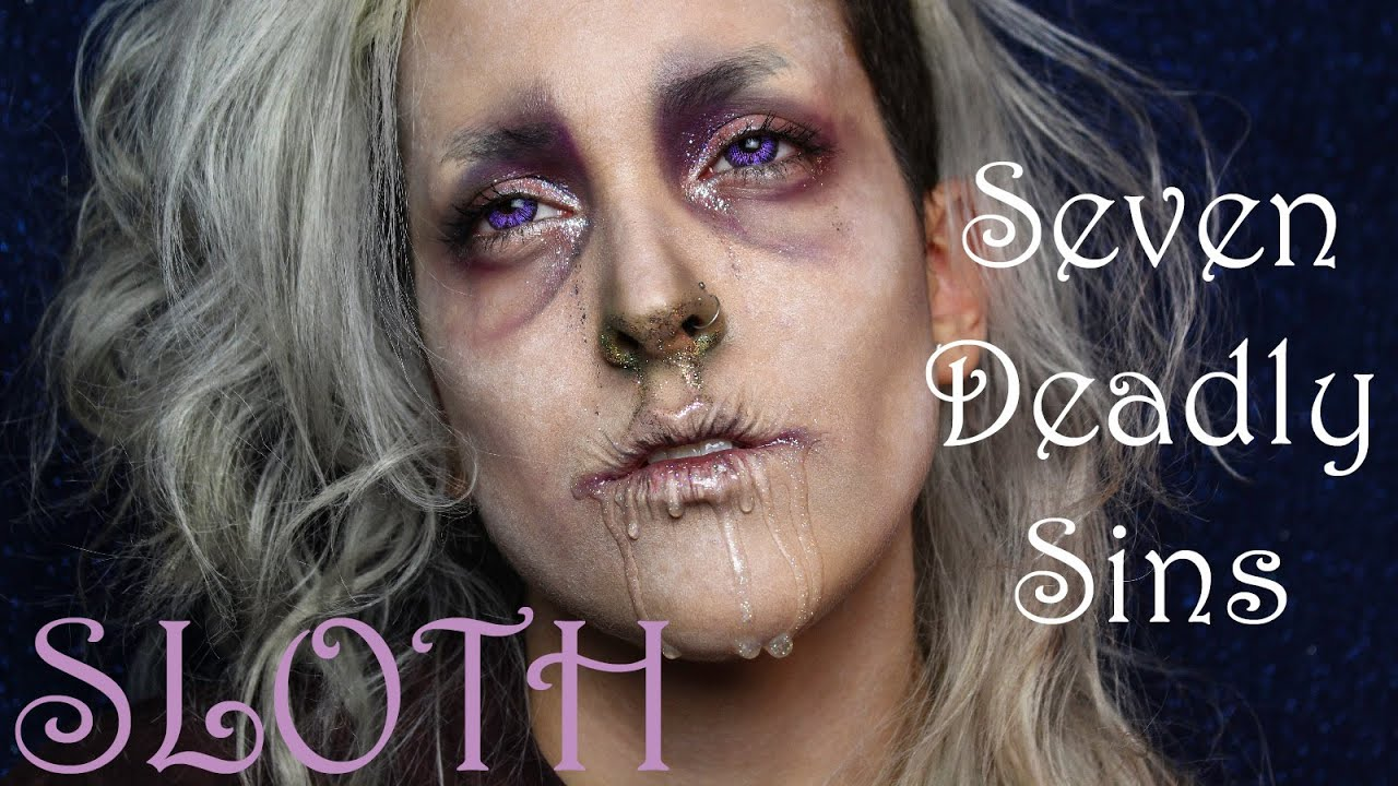 Makeup Ideas sloth makeup : SLOTH - 7 Deadly Sins Makeup Collaboration Tutorial - YouTube