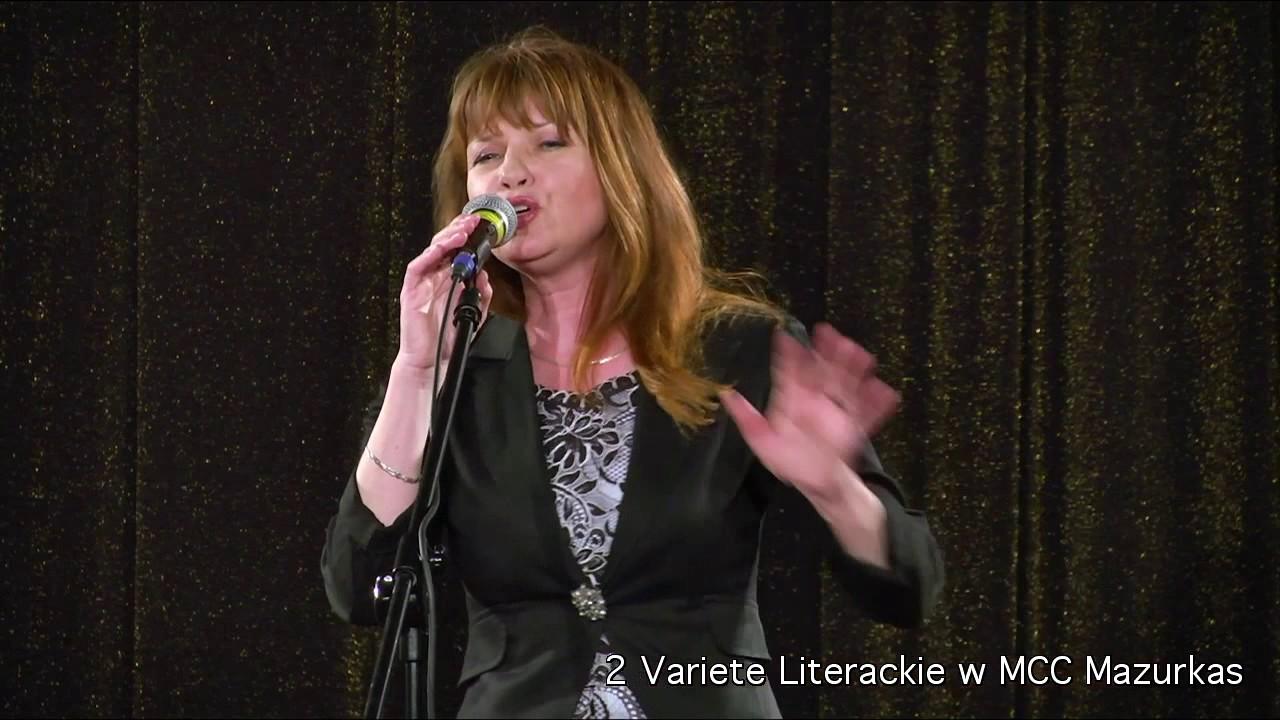 2 Variete Literackie -Katarzyna Jamróz - świat piosenki francuskiej -