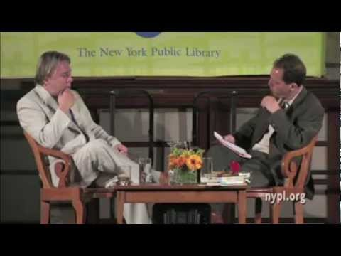 Christopher Hitchens Hitch 22 Interview at NY Public Library