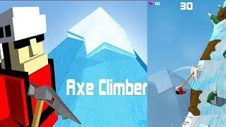 ПОЧУВСТВУЙ СЕБЯ СКАЛОЛАЗАМ ► Axe Climber ►Обзор,Первый взгляд,Геймплей,Gameplay