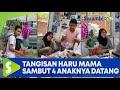 Tangisan Haru Mama Sambut 4 Anaknya Datang dari Jauh, Beri Hadiah Ulang Tahun Untuk Ibunya