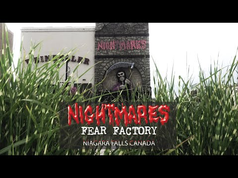Nightmares Fear Factory - Haunted House L Clifton Hill, Niagara Falls Review