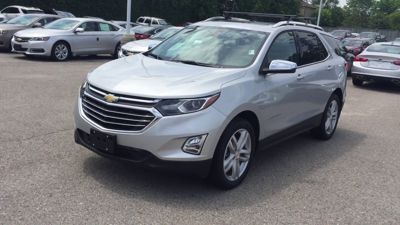 2018 chevrolet equinox premier awd silver ice metallic roy nichols motors courtice on youtube. Black Bedroom Furniture Sets. Home Design Ideas