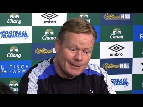 Ronald Koeman Full Pre-Match Press Conference - Everton v Chelsea
