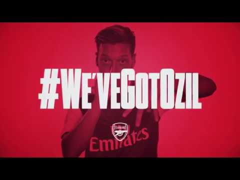We've got Ozil, Mesut Ozil... and he's here to stay!