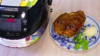 Домашние видео-рецепты - баранина запечённая в мультиварке