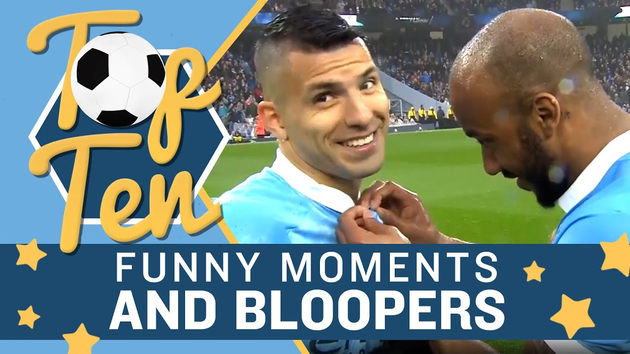 Man City Funny: Top 10 Funny Moments & Bloopers