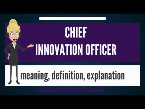 What is CHIEF INNOVATION OFFICER? What does CHIEF INNOVATION OFFICER mean?