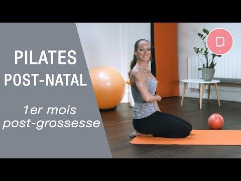 Pilates post-grossesse - 1er mois après l'accouchement