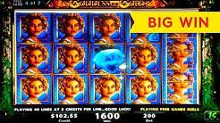 HEART STOPPING! Goddess of Gold Slot - BIG WIN BONUS!