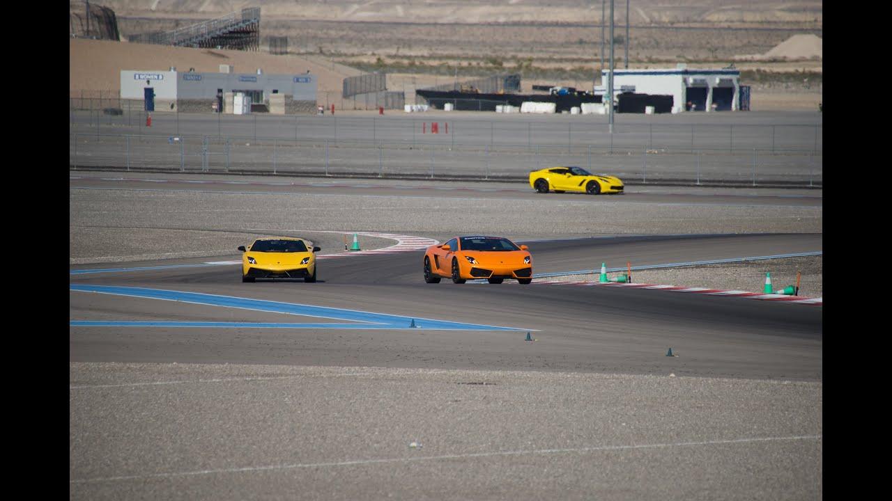 Exotics Racing Las Vegas Motor Speedway Drive The Supercar Of Your