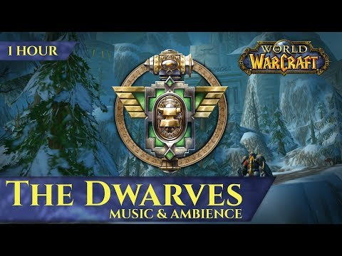 The Dwarves Of Vanilla - Music & Ambience (1 Hour, 4K, World Of Warcraft Classic)