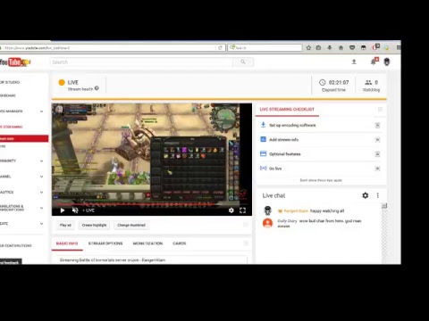 Streaming Battle of Immortals server orizon - RangerHitam