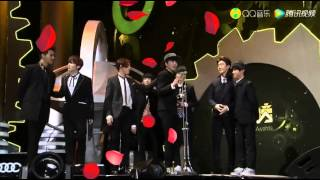 150325 qq music awards winner new force of the year
