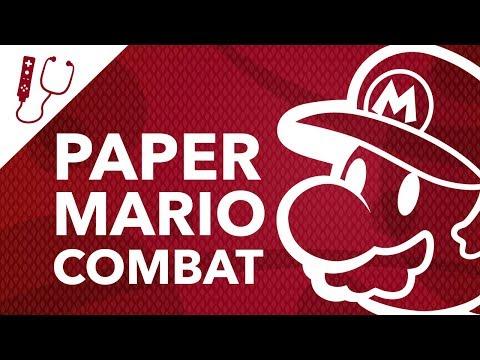 The Combat of Paper Mario: Color Splash ~ Design Doc