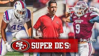 Live! 49ers HC Kyle Shanahan Will Coach Jaylon Ferguson & Montez Sweat In Senior Bowl thumbnail
