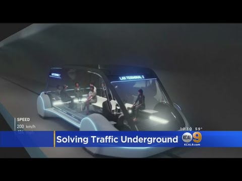 Elon Musk Lays Out His Vision For Underground Travel Tunnels