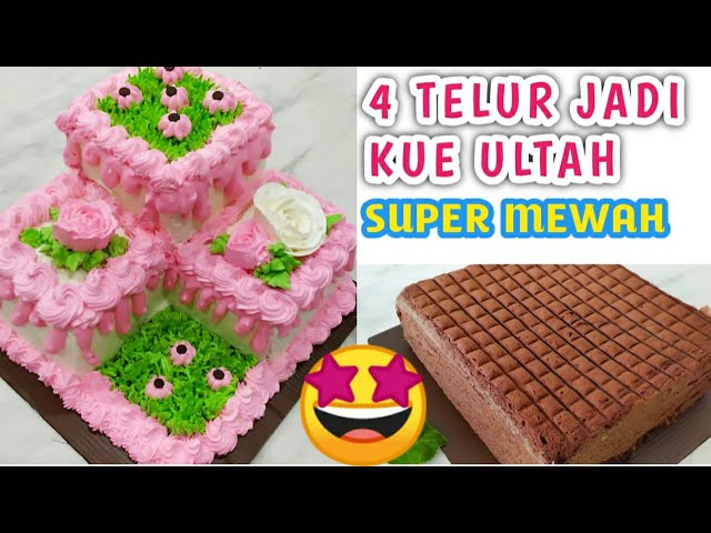 Kue Ultah Yang Lagi Viral Basecake Blackforest Youtube