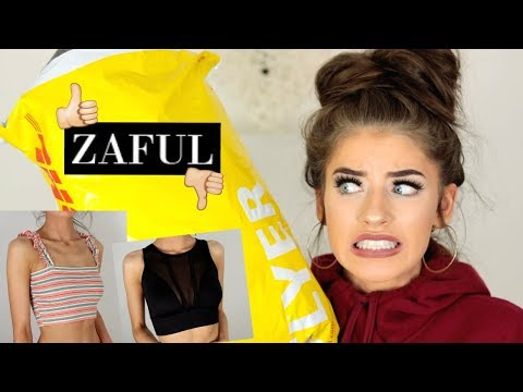 I SPENT £300 ON ZAFUL... ARE YOU FOR REAL?! Try On Haul | Jessie B