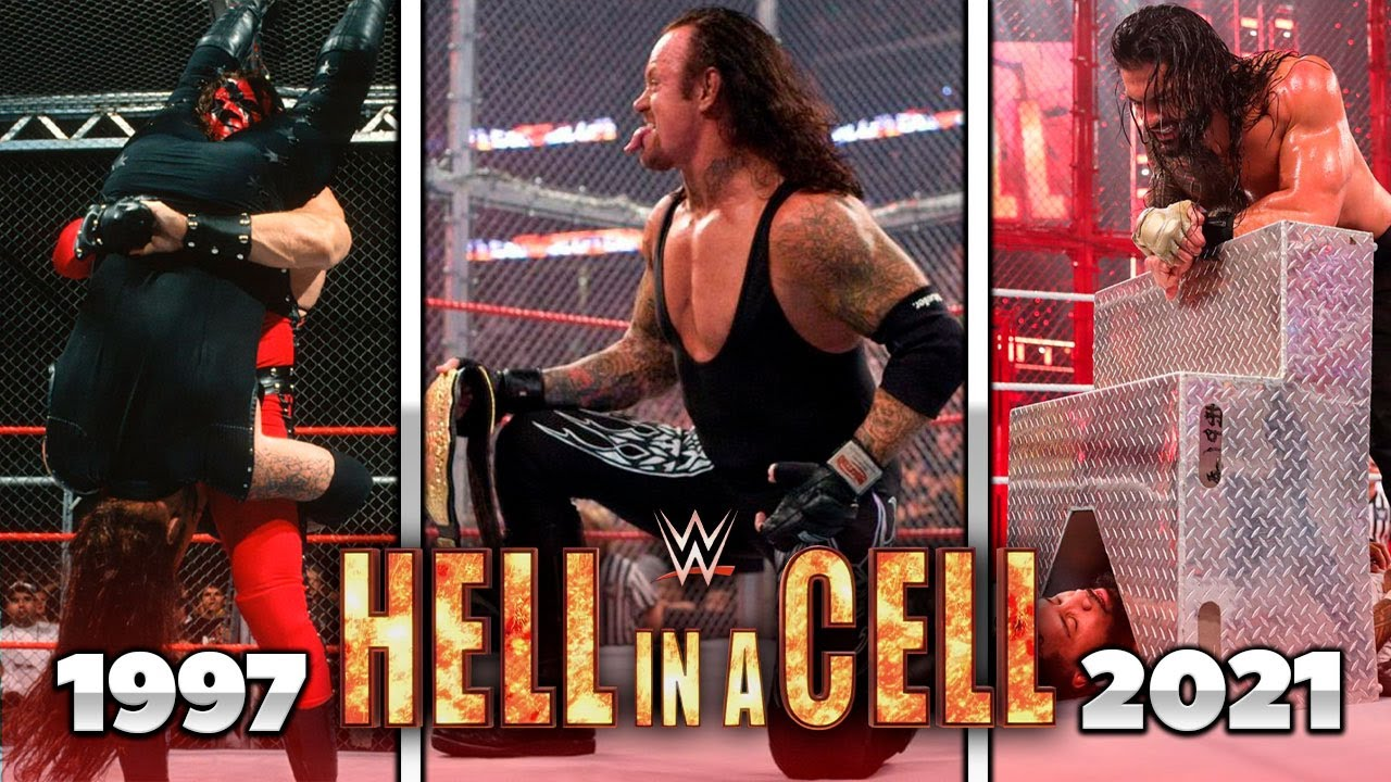 WWE Hell in a Cell (1997-2020) Todos los GANADORES/ All Winners