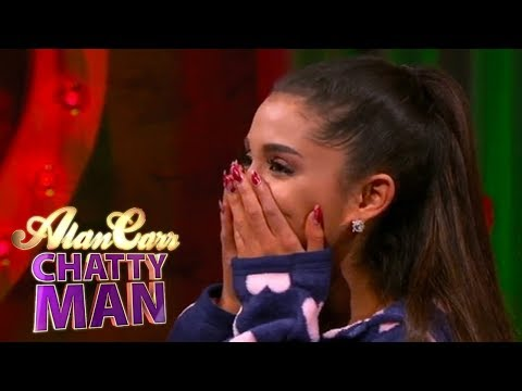 Chatty Man Roulette with Ariana Grande, Will Arnett and Jimmy Carr | Alan Carr Chatty Man