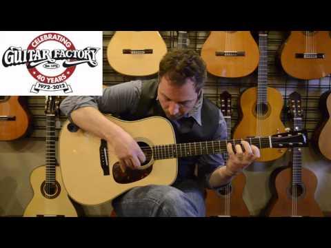Collings D2H demo with Matt Tonks