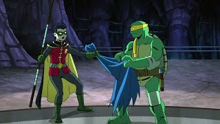 Turtles vs Robin in the Batcave | Batman vs Teenage Mutant Ninja Turtles
