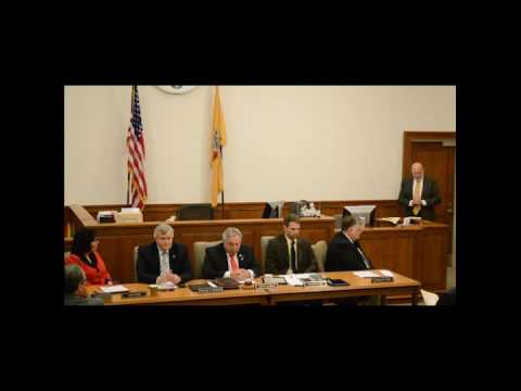 2017 Reorganization of Sussex County Board of Chosen Freeholders
