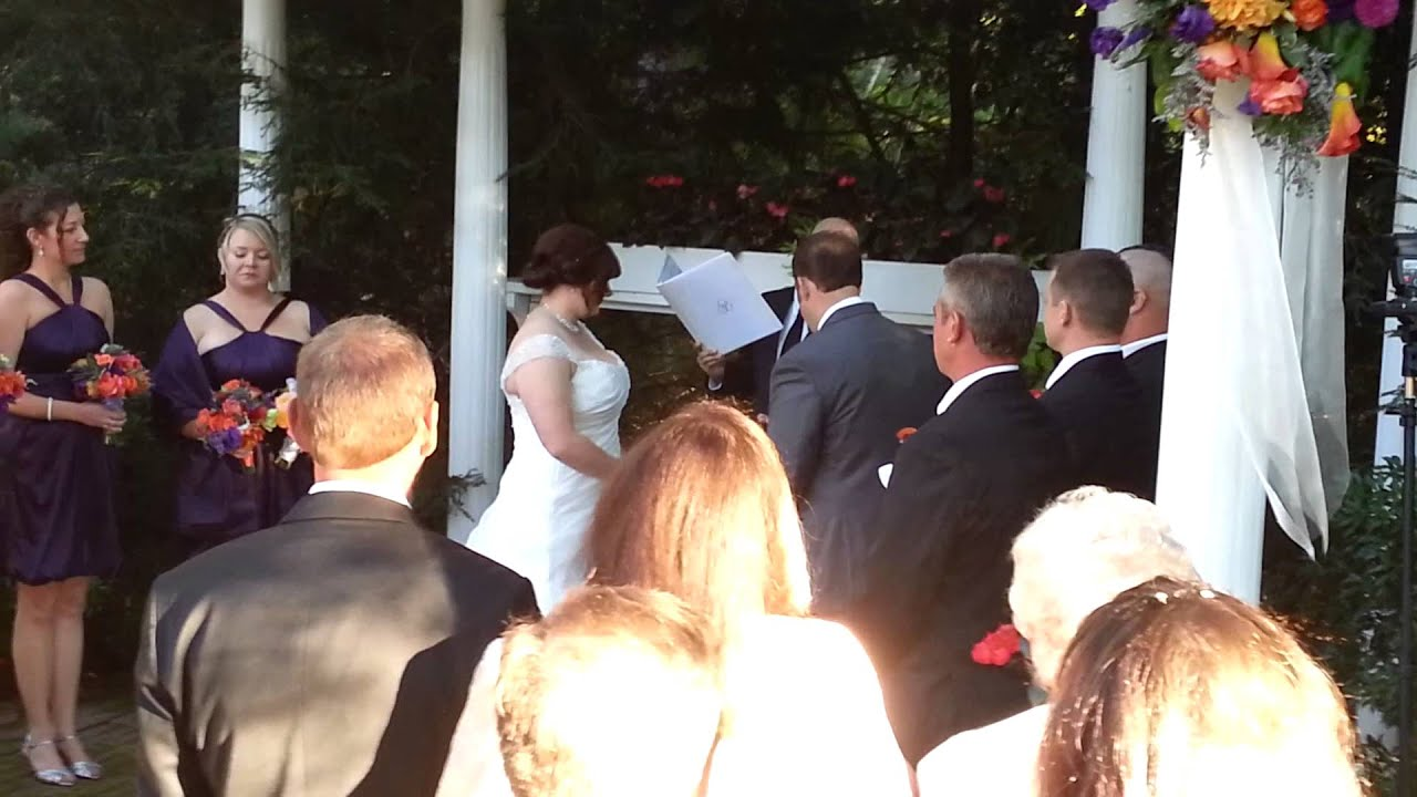 A short sweet Wedding ceremony - YouTube