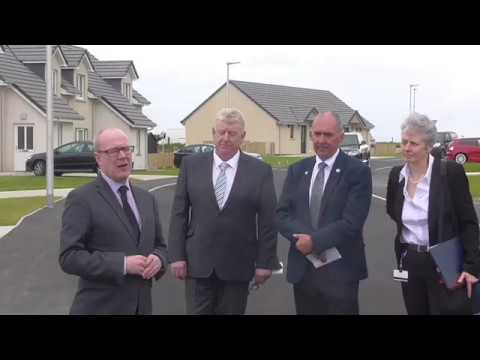 Kevin Stewart (MSP), Minister for Local Government and Housing | Mackenzie Lane Opening