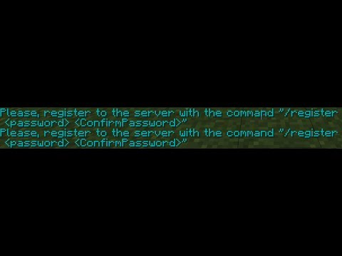 Minecraft | How To Login/register Into A Server [Common Problem] 2017