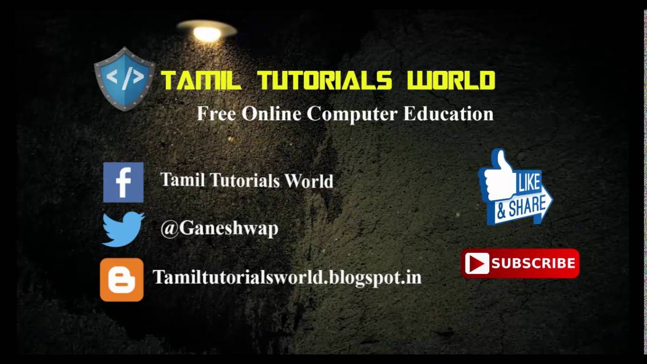 Learn Tamil online | Best Tamil tuition | Best Tamil class ...