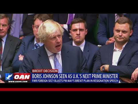 Boris Johnson Seen as U.K.'s Next Prime Minister