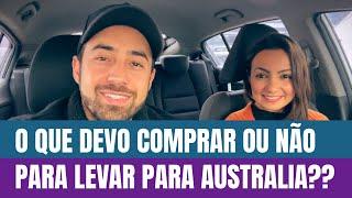Preço dos Produtos na Australia | DIÁRIO DE INTERCÂMBIO EP.03 | Fazer as Malas
